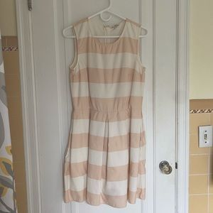 Striped Fit and Flare GAP Dress